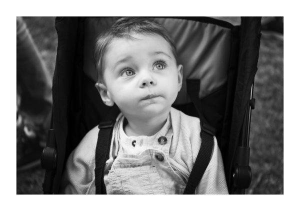 enfant photo noir et blanc